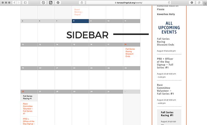 Sidebar Screenshot